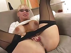 Big tits milf in sweater teases us tubes