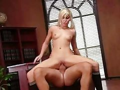 Skinny slut Madison Ivy fucked by huge cock tubes