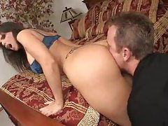 Big boobs business girl laid in bedroom tubes
