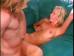 Leggy blonde pornstar pounded in her pussy tubes