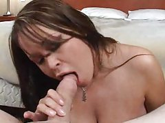 Brandy Talore huge tits titjob and blowjob tubes