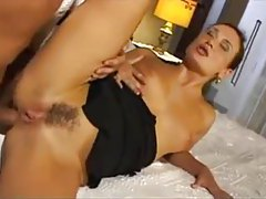Milf in bathtub blows him before anal tubes