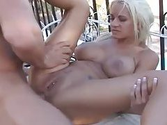 Perfect body and hot tits on anal slut outdoors tubes