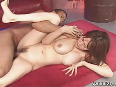 Cute Rina hammered by a wild dick! tube