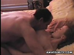 Amateur girlfriend blowjob and fuck with creampie cumshot tubes