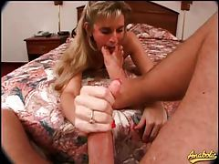 You film and she sucks on big cock tubes