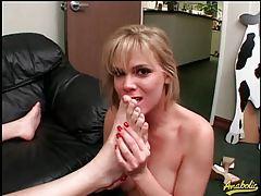 Pornstar Keri Windsor sucks cock and licks his ass tubes