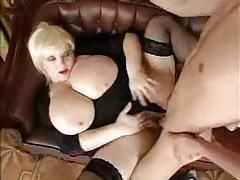 Banging hot BBW in stockings tubes