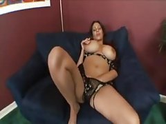 Huge tits milf fondled and sucking cock tubes