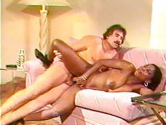 Retro mustache man bangs black hottie tubes