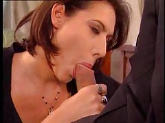 Hottie gives therapist a blowjob tubes