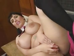 Fat schoolgirl has a sexy set of big tits tubes