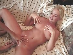 Blonde Sylvia Saint toyed in the pussy tubes