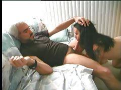 Sexy tattooed amateur sucks his boner tubes