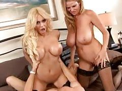Big sexy tits pornstars threesome sex tubes