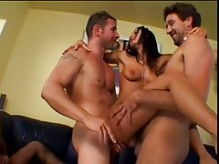 Pornstar Sandra Romain is gangbang slut tubes