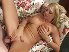 Vicky Vette banged from behind tubes