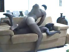 Homemade hardcore with his black GF tubes