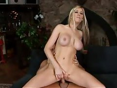 Slender blonde face fucked then boned raw tubes