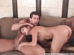 Pretty Latina hottie enjoys fucking her well hung partner tubes