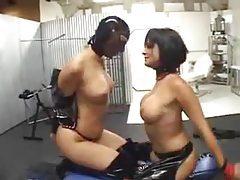 Lesbian latex fetish scene is hot as hell tubes