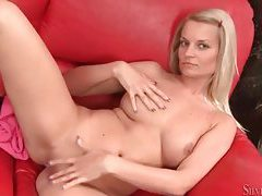 Young blonde with big tits is gorgeous tubes