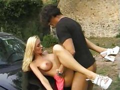 Group sex outdoors with Euro beauties tubes