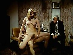 Heated retro group sex with luscious hairy babes tubes