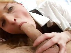 Cock down the throat of the schoolgirl tubes