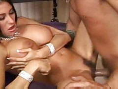 Classy milf with gorgeous round ass gets boned hard tubes