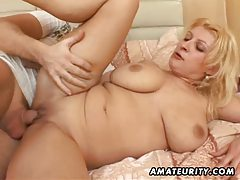Chubby amateur wife fucking with facial cumshot tubes