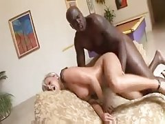 Elegant blonde with big tits enjoys steamy interracial romp tubes