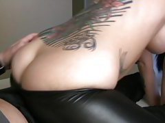 Bubble butt goddess grinds her lovers thick dick tubes