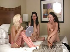 Daniella, Aurianna and Lily Strip Jester part I tubes