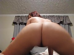 Hot brunette stunner with shaved pussy dances tubes