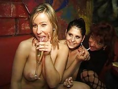 Swingers party with sexy milfs taking dick tube
