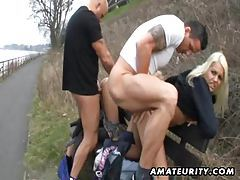 Hot amateur sluts suck and fuck outdoor tubes
