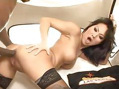 Asa Akira anal with a big black cock tubes