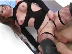 Slut in boots and fishnets aggressive sex tubes