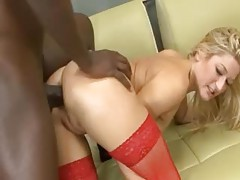 Big black dick stretches ass of stockings girl tubes