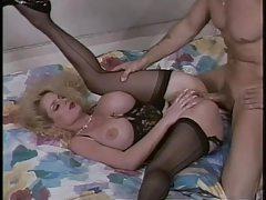 Lovely lingerie on this retro fake tits milf tubes