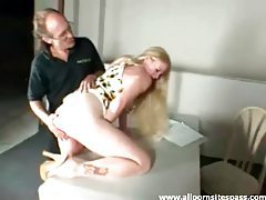 Naughty blonde teen with firm butt getting spanked red tubes