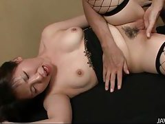Finger banging and toy fucking her hot pussy tubes