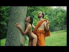 Monk fucks a worshipful girl outdoors tubes