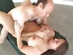 Old guy fucks chubby milf outdoors tubes
