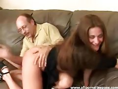 Babe in heels and gorgeous ass getting her butt spanked tubes