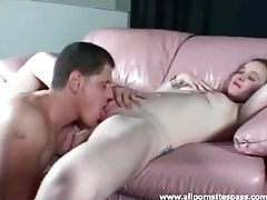 Horny minx enjoys getting her shaved pussy eaten out tubes