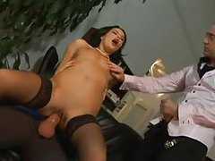 Sex with irresistible secretary babes tube