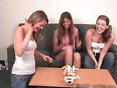 Mia Ashley and Ashton Play Strip Jingo tubes