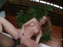 Busty redhead milf enjoys getting her ass slammed tubes